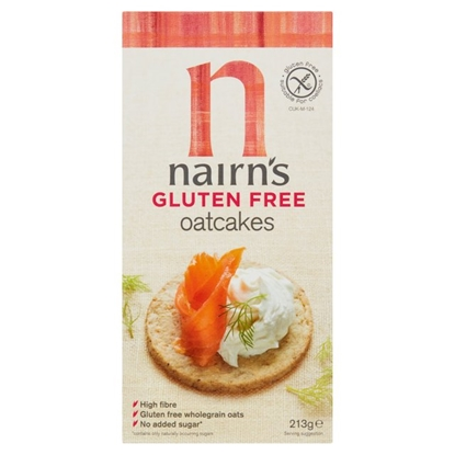 Picture of NAIRN G/FREE OATCAKES 213G X 8