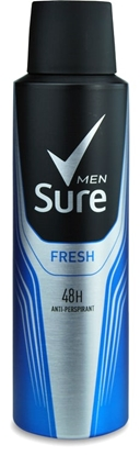 Picture of SURE MEN ACTIVE 150ML X 6