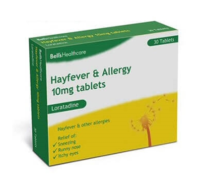 Picture of BELLS HAYFEVER & ALLERGY 14'S X 10