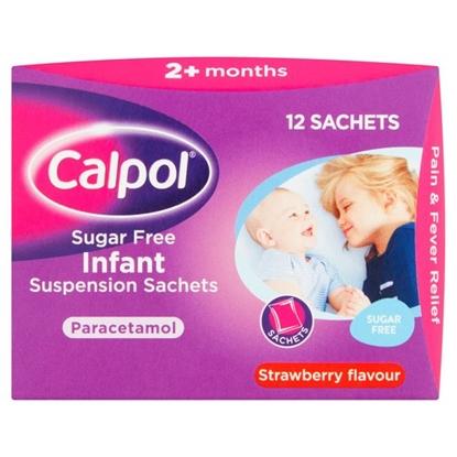 Picture of CALPOL INFANT SACHETS 12'S X 6