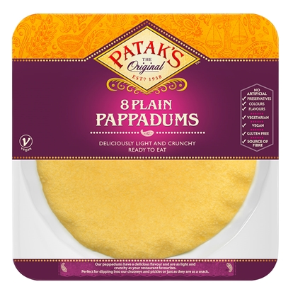 Picture of PATAKS PAPPADUMS 8'S X 8