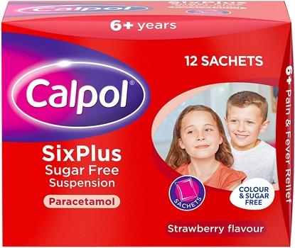 Picture of CALPOL 6 PLUS SACHET 12'S X 6