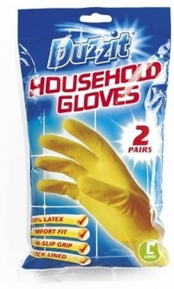 Picture of CUMFIES RUBBER GLOVES LARGE x 12