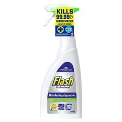 Picture of FLASH PROFESSIONAL DISINFECTANT DEGREASER 750MLX 6