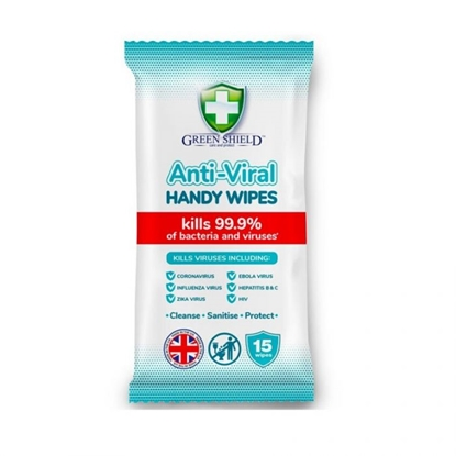 Picture of GREENSHIELDS ANTIBAC. VIRAL WIPES 15'S X 12