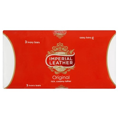 Picture of IMPERIAL LEATHER SOAP 3 PACK X 12