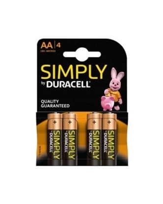Picture of DURACELL  SIMPLY * AAA * 4S X 10