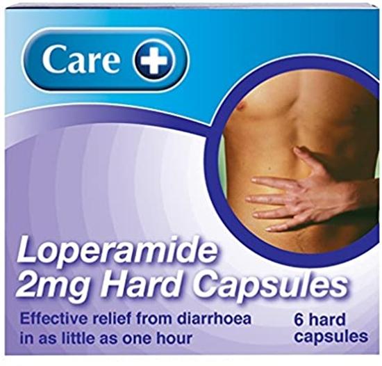 Picture of CARE LOPERAMIDE DIARRHOEA CAPSULES 6PK X 6