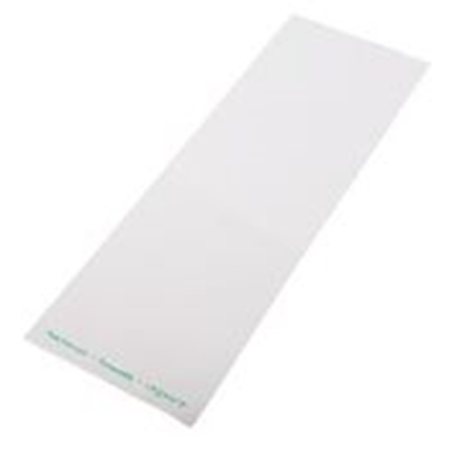 Picture of VEGWARE 120 X 350 MM CLEAR/WHITE PLA BAG X 1000