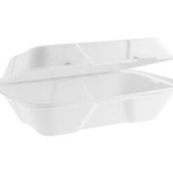 """Picture of VEGWARE 9"""" x 6"""" CLAMSHELL x 200"""