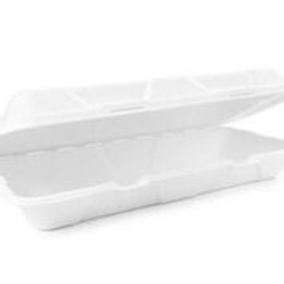 "Picture of VEGWARE 12x6"" FISH and CHIP CLAMSHELL X 250"