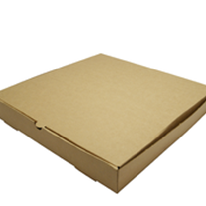 "Picture of VEGWARE 12"" BROWN KRAFT PIZZA BOX x 100"
