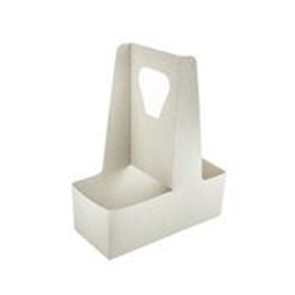Picture of VEGWARE 2 CUP HANDLED CARRY TRAY X 250