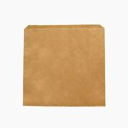 "Picture of VEGWARE 10 X 10"" RECYCLED KRAFT FLAT BAG X 1000"