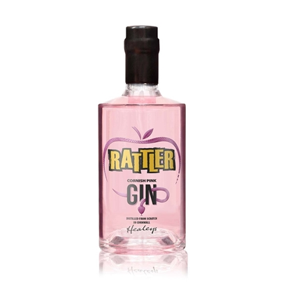 Picture of CORNISH RATTLER PINK GIN 70CL X 6
