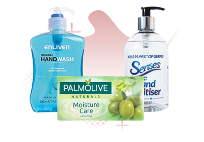 Picture for category SOAPS, HANDWASH & SANITIZERS