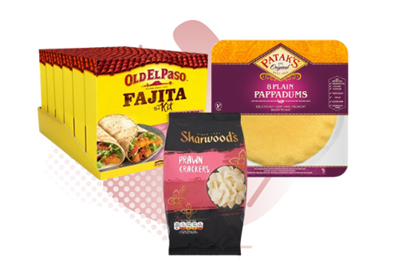 Picture for category POPPADOMS, BREADS & CRACKERS