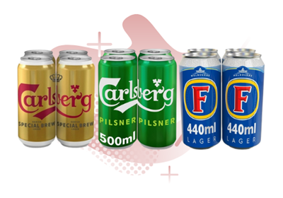 Picture for category LAGER CANS LARGE PACKS