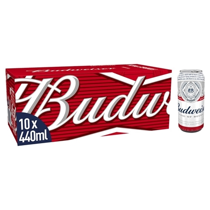 Picture of BUDWEISER 440MLS 10PK X 3