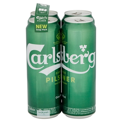 Picture of CARLSBERG PINT CANS 4PK X 568ML X 6