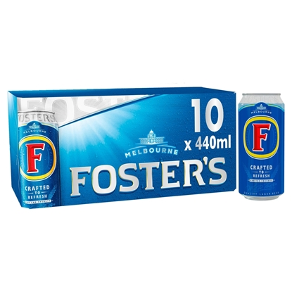 Picture of FOSTERS 440ML 10 PACK X 1