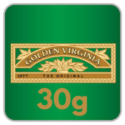 Picture of GOLDEN VIRGINIA 30G X 5  £1 off til 30/4