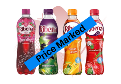 Picture for category RIBENA PRICE MARKED BOTLES