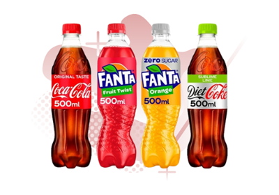 Picture for category COCA COLA 500ML  BOTTLES