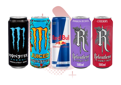 Picture for category ENERGY DRINK CANS