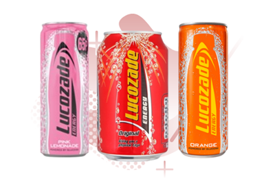 Picture for category LUCOZADE CANS
