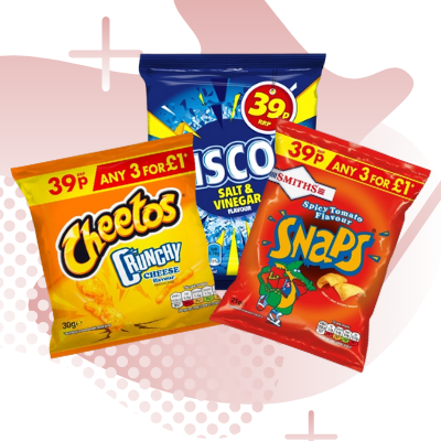 Picture for category 39P PRICE MARKED SNACKS