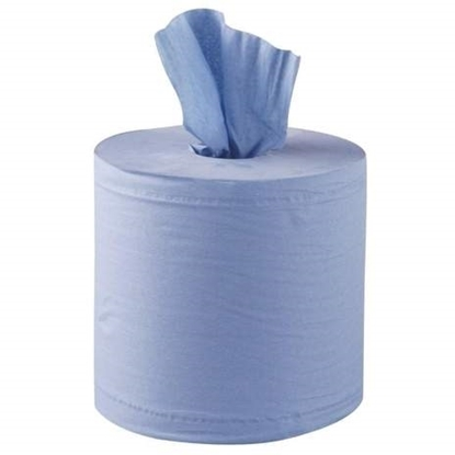 Picture of CENTRE FEED ROLL BLUE 2PLY 150m x6