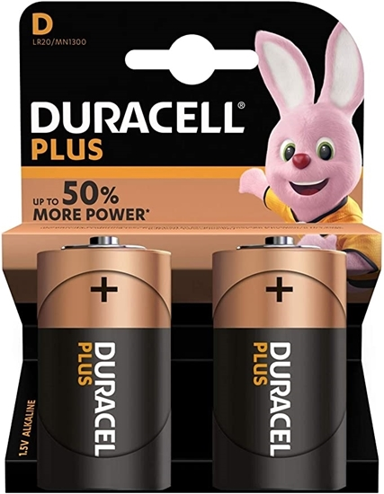 Picture of DURACELL PLUS  * D * 2PACK X 10
