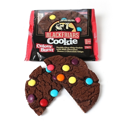Picture of BLACKFRIARS COLOUR BURST COOKIE 60g x 16