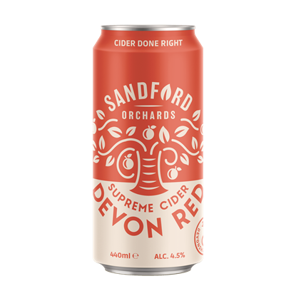 Picture of SANDFORD ORCHARDS DEVON RED 8 PACK CANS X 1