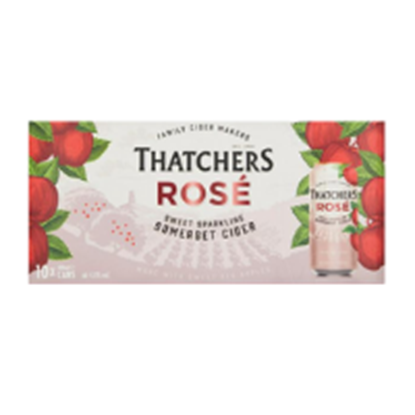 Picture of THATCHERS ROSE 440ML 10 PACK X 2
