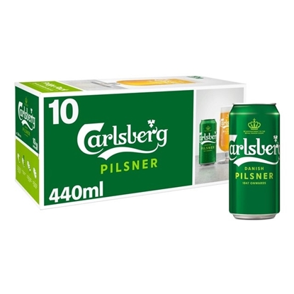 Picture of CARLSBERG 440ML 10PK X 2