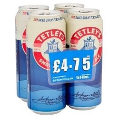 Picture of PM £4.75 TETLEY SMOOTHFLOW 4PK X 440ML X 6