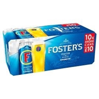 Picture of PM £10.00 FOSTERS 440ML 10PK X 2