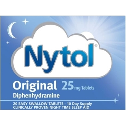 Picture of NYTOL 20'S X 6
