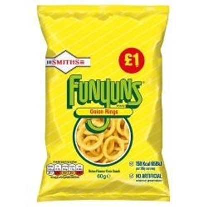 Picture of PM £1 WALKERS FUNYUNS 60g x15