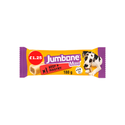 Picture of PM £1.25 PEDIGREE JUMBONE BEEF/POUL CLIPS 90g x 24