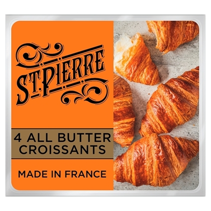 Picture of ST PIERRE 4 BUTTER CROISSANTS X 8