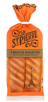 Picture of ST PIERRE 4 SOFT BRIOCHE BAGUETTES X 7