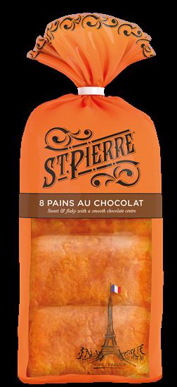 Picture of ST PIERRE 8 PAINS AU CHOCOLAT X 10