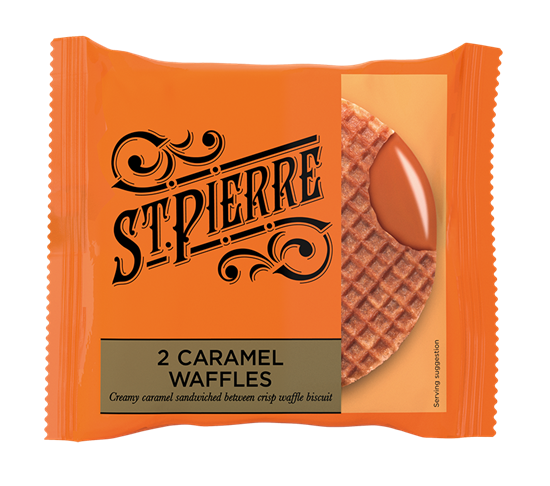 Picture of ST PIERRE FTG CARAMEL WAFFLES X 12