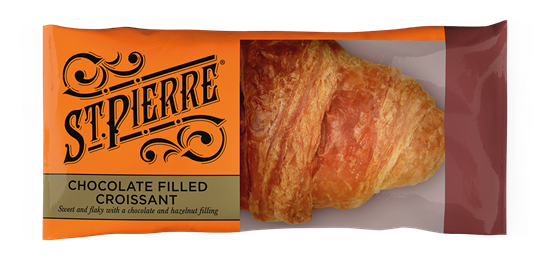 Picture of ST PIERRE FTG CHOCOLATE FILLED CROISSANT X 16