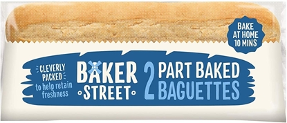 Picture of BAKER STREET 2 PART BAKED BAGUETTES X 12