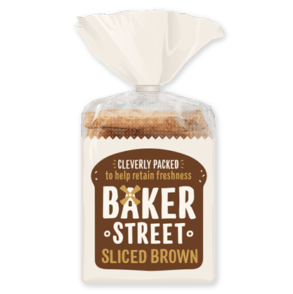 Picture of BAKER STREET SLICED BROWN BREAD X 9