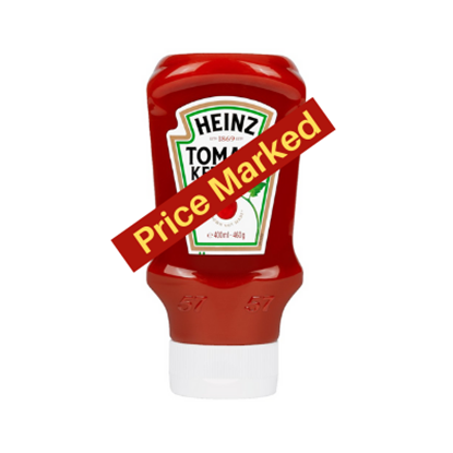 Picture of PM £2.19 HEINZ TOMATO SAUCE *SQUEEZY 460G* x 10
